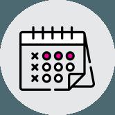 Icon calendar - Главная