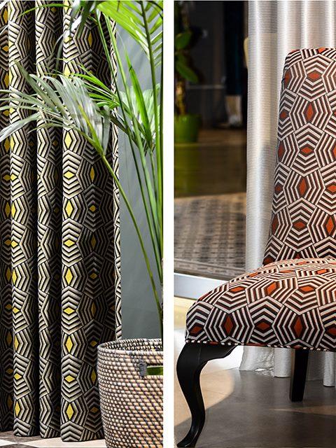 degrape 1 - Тканини для штор та меблів відомого на ринку Європи текстильного бренду - Degrape