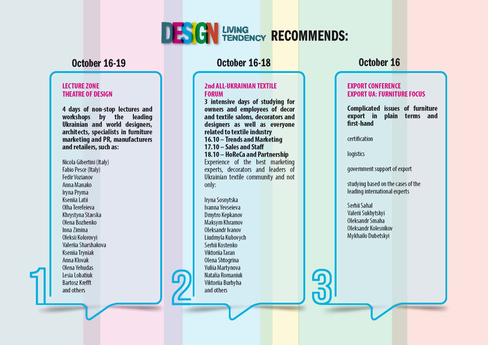 infografic engl 5 - Everything you need to know about Design Living Tendency 2019